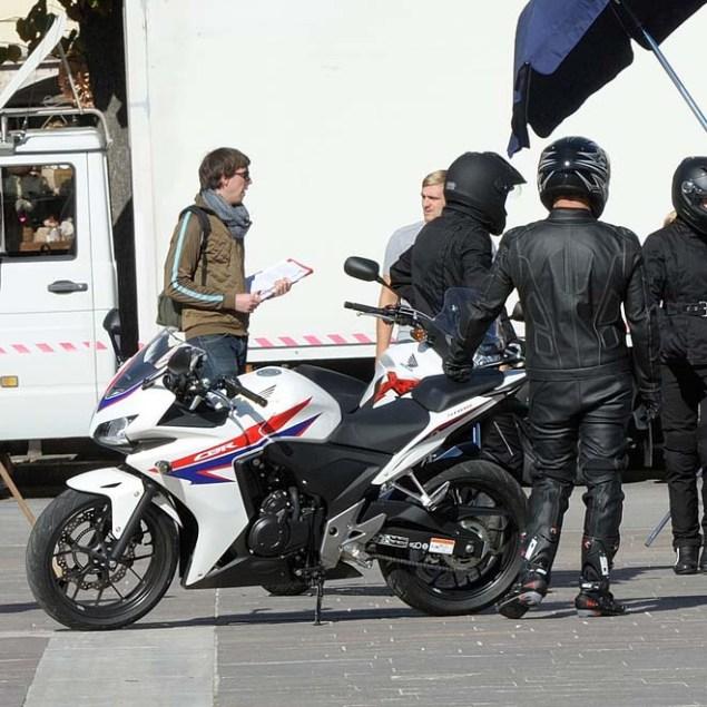 Spotted: Honda CBR500, Honda CB500R & Honda CB500X Honda CB500 spy photo 05 635x635