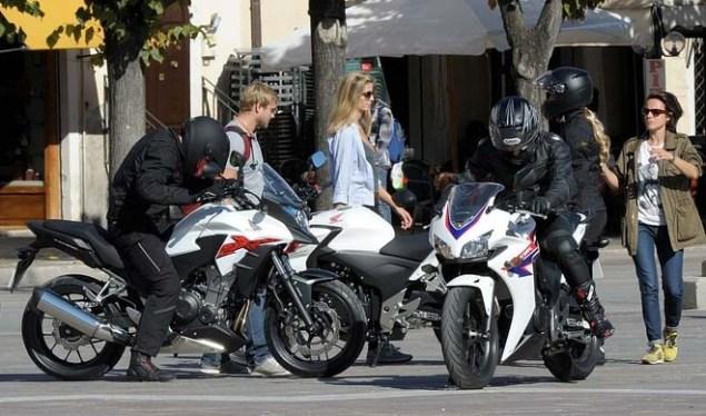 Spotted: Honda CBR500, Honda CB500R & Honda CB500X Honda CB500 spy photo 10 635x374