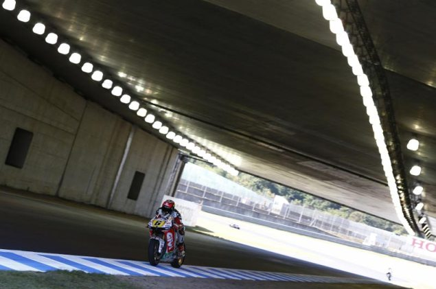 MotoGP: Motegi to Host MotoGP thru 2018 Stefan Bradl Motegi tunnel LCR Honda 635x421