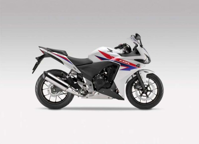 First Official Shots of the 2013 Honda CBR500 2013 Honda CBR500 01 635x459