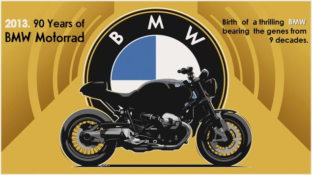 BMW Sorta Announces Air Cooled 90th Anniversary Model BMW 90th Anniversary 635x357