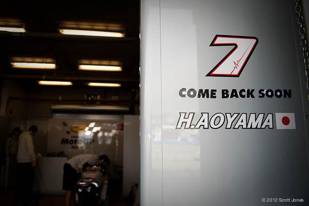 Hiroshi Aoyama Back in MotoGP for 2013 Hiroshi Aoyama MotoGP Scott Jones