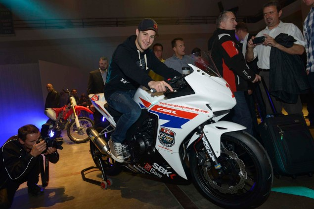 First Look at the Honda CBR500R Race Bike Honda CBR500R race bike 02 635x423
