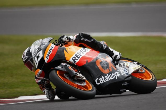 Moto2: Marc Marquez Accused of...What Exactly? Marc Marquez Moto2 Silverstone HRC 635x421