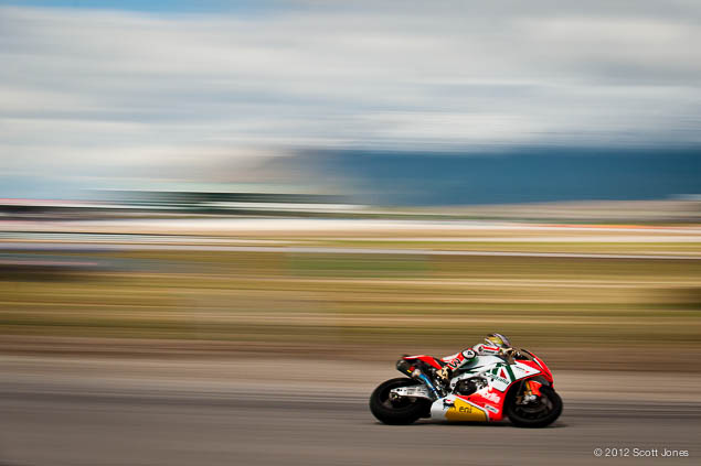 Max Biaggi Officially Retires from Motorcycle Racing Max Biaggi Miller Motorsports Park WSBK Aprilia Scott Jones