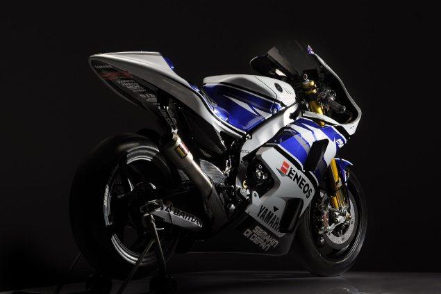 Yamaha Considering Leasing M1 Motors to MotoGP Teams Yamaha YZR M1 635x423
