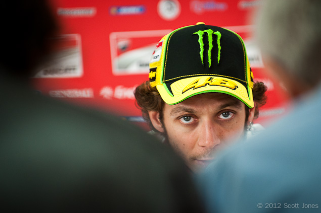 Monster To Sponsor Yamahas Factory MotoGP Team? Valentino Rossi press conference MotoGP Scott Jones