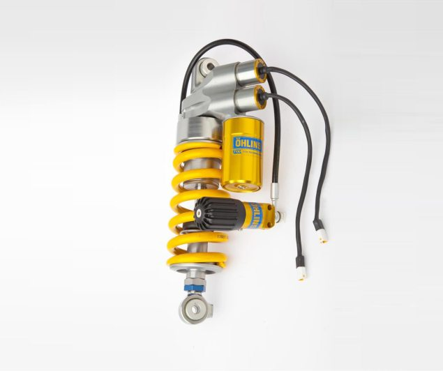 Öhlins Brings Semi Active Suspension to the Masses ohlins semi active suspension shock 635x532