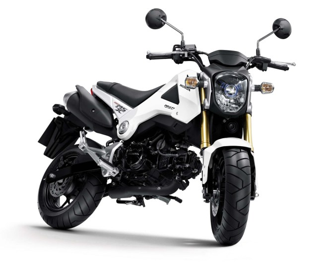 Honda MSX125 Will Make a Monkey Out of You 2013 Honda MSX125 Monkey 01 635x539