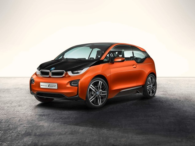 Brain Teaser: The BMW i3 Electric Car Will Have an Optional Gas Powered Motorcycle Engine in It BMW i3 concept 02 635x475
