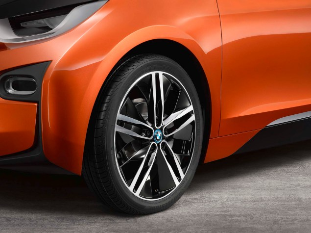 Brain Teaser: The BMW i3 Electric Car Will Have an Optional Gas Powered Motorcycle Engine in It BMW i3 concept 07 635x475