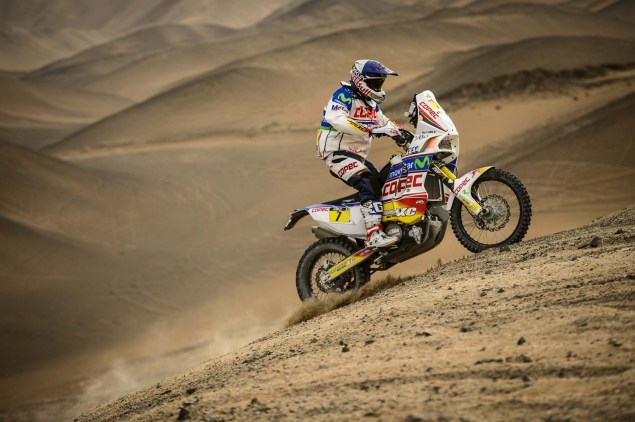 Dakar Rally   Stage 6: Yamaha Leads KTM into Chile Dakar Rally Francisco Lopez 635x422