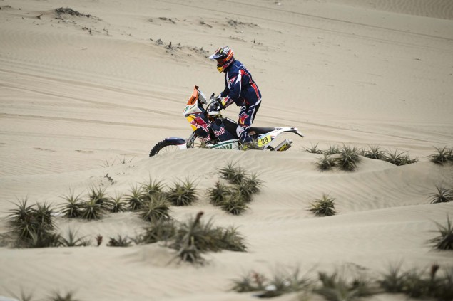 Dakar Rally   Stage 7: American Kurt Caselli Takes First Win Kurt Caselli KTM 2013 Dakar Rally 05 635x423