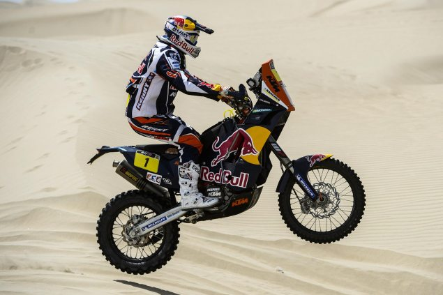 Dakar Rally – Stage 2: Wrong Turn Costs Despres 8 Minutes cyril despres ktm dakar rally 635x423