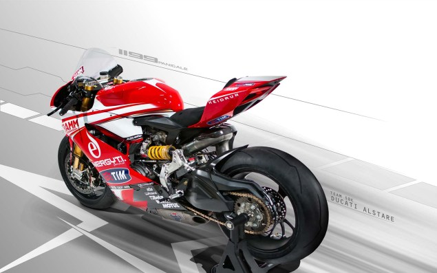 Photos: Ducati Alstare Unveils The WSBK Hotness 2013 Ducati Alstare 1199 Panigale R WSBK 03 635x397
