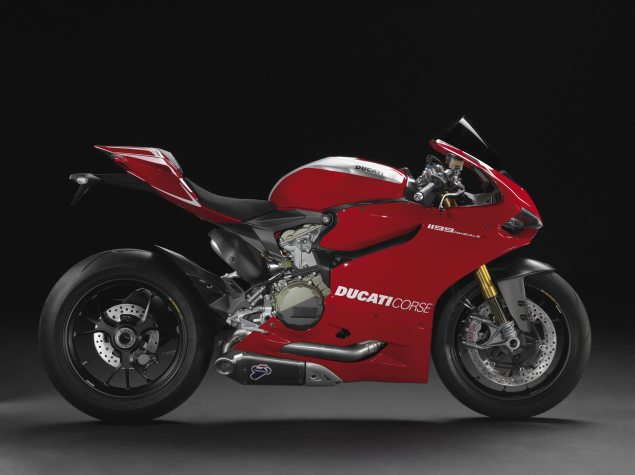 Ducati Reports 21% Sales Gain in 2012 Ducati 1199 Panigale R 635x475