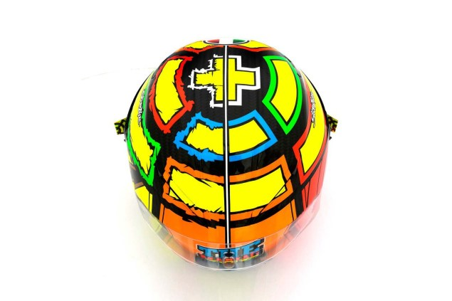Photos: The Five AGV Pista GP Helmets in MotoGP AGV Pista GP MotoGP Andrea Iannone 3 635x423