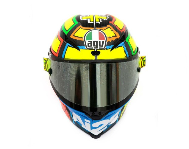 Photos: The Five AGV Pista GP Helmets in MotoGP AGV Pista GP MotoGP Andrea Iannone 5 635x500