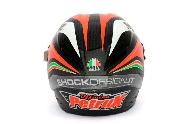 Photos: The Five AGV Pista GP Helmets in MotoGP AGV Pista GP MotoGP Danilo Petrucci 1 635x423