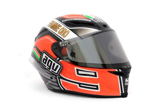 Photos: The Five AGV Pista GP Helmets in MotoGP AGV Pista GP MotoGP Danilo Petrucci 4 635x424