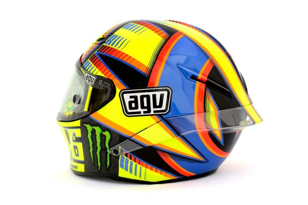 Photos: The Five AGV Pista GP Helmets in MotoGP AGV Pista GP MotoGP Valentino Rossi 2 635x424