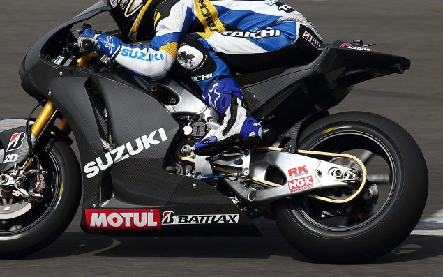2014 Suzuki GSV R Spotted Again 2014 suzuki gsv r motogp prototype cycle world 635x397