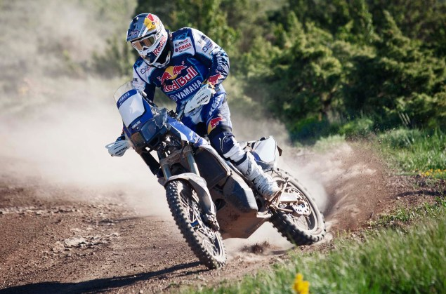 Cyril Despres Will Ride with Yamaha in the 2014 Dakar Rally Cyril Despres Yamaha Motor France 2014 Dakar Rally 01 635x419