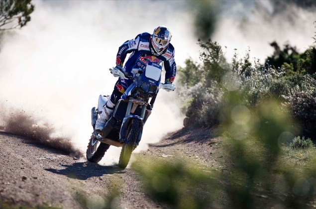 Cyril Despres Will Ride with Yamaha in the 2014 Dakar Rally Cyril Despres Yamaha Motor France 2014 Dakar Rally 02 635x420