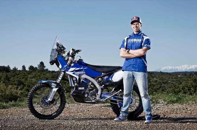 Cyril Despres Will Ride with Yamaha in the 2014 Dakar Rally Cyril Despres Yamaha Motor France 2014 Dakar Rally 08 635x420