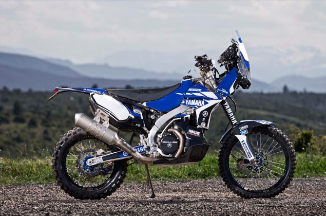 Cyril Despres Will Ride with Yamaha in the 2014 Dakar Rally Cyril Despres Yamaha Motor France 2014 Dakar Rally 09 635x420
