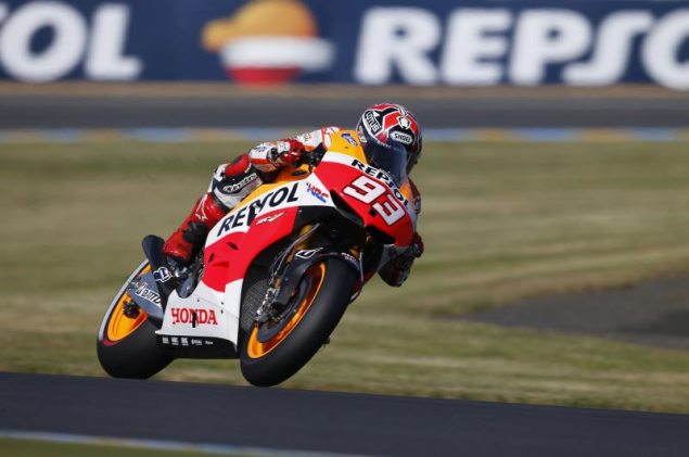 Saturday Summary at Le Mans: Of Exceptional Rookies, Real Race Pace, & What It Takes To Be Champion marc marquez hrc le mans motogp