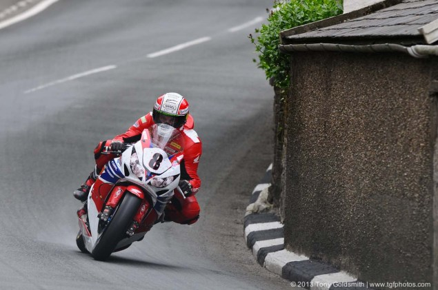 IOMTT: Barregarrow with Tony Goldsmith Barregarrow Superbike TT race Isle of Man TT Tony Goldsmith 03 635x421