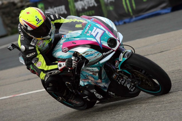 IOMTT: Creg ny Baa with Richard Mushet Creg ny Baa Isle of Man TT Richard Mushet 22 635x423
