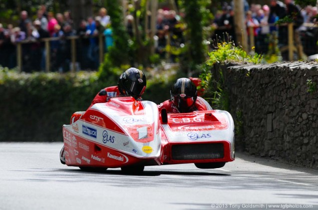IOMTT: Glencrutchery Road with Tony Goldsmith Glencrutchery Road Isle of Man TT Tony Goldsmith 09 635x421