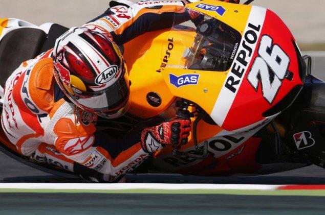 MotoGP: Qualifying Results from Catalunya dani pedrosa catalunya hrc motogp repsol honda