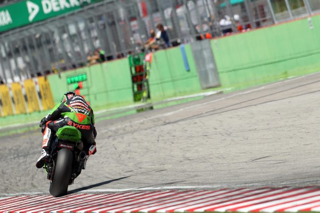 WSBK: Race Results for Race 2 at Imola tom sykes race 2 imola wbsk kawasaki racing 635x423
