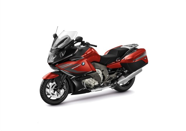 2014 BMW K1600GT Sport   Familiar, But Different 2014 BMW K1600GT Sport 03 635x448