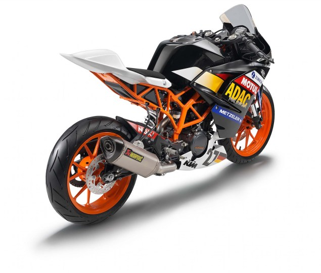 2014 KTM RC390 Cup   A Glimpse of Whats to Come 2014 KTM RC390 race bike unveil 12 635x541