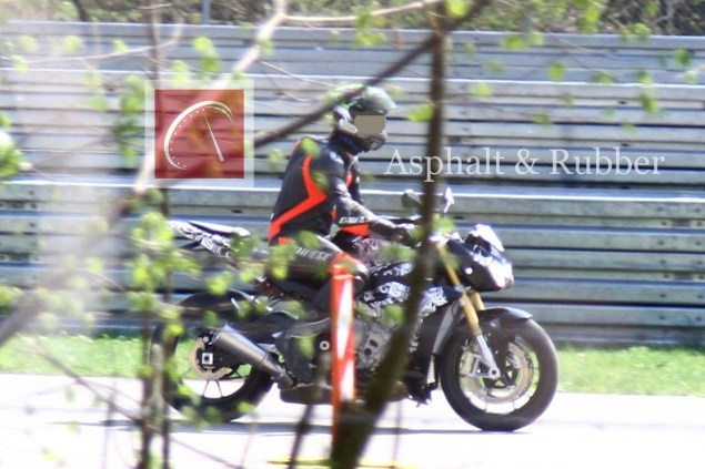 Spy Photos: The BMW S1000RR Naked Bike Winks at Us BMW S1000RR streetfighter naked spy photo 02 635x423
