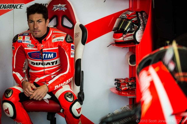 No Factory Seat at Ducati for Hayden   Headed to WSBK? Friday Sachsenring German GP MotoGP Scott Jones 14 635x422