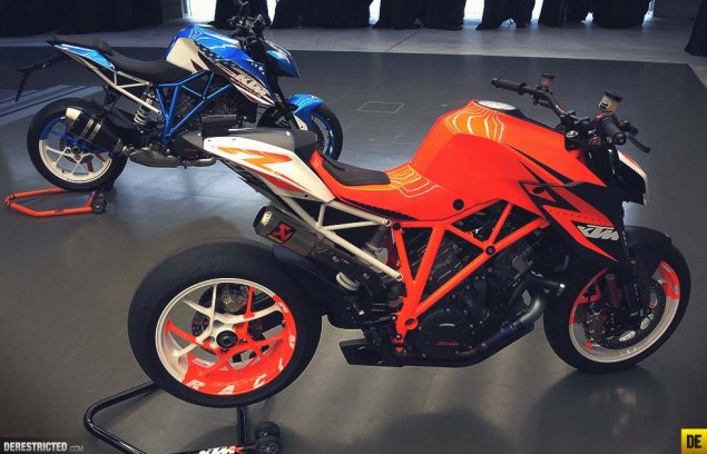 Moar Photos of the KTM 1290 Super Duke R Patriot Edition KTM 1290 Super Duke R Patriot Edition derestricted Piers SP 01