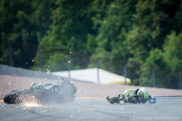 Trackside Tuesday: Great Expectations cal crutchlow crash sachsenring motogp scott jones 635x422