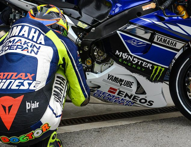 Video: 12 Questions with Valentino Rossi valentino ross laguna seca yamaha racing motogp jensen beeler 635x491