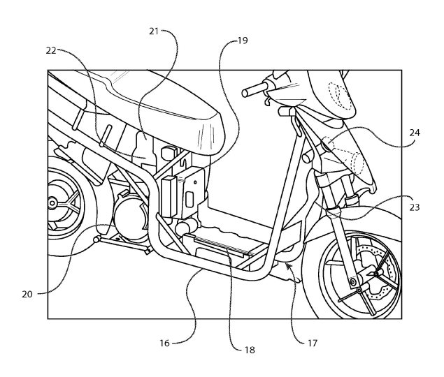 Erik Buell Racing Patents Hybrid Motorcycle Design Erik Buell Racing hybrid motorcycle patent 04 635x540