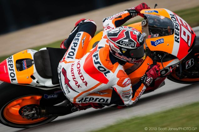 Marc Marquez: It Was a Great Surprise Marc Marquez MotoGP Indianapolis GP Scott Jones 635x423