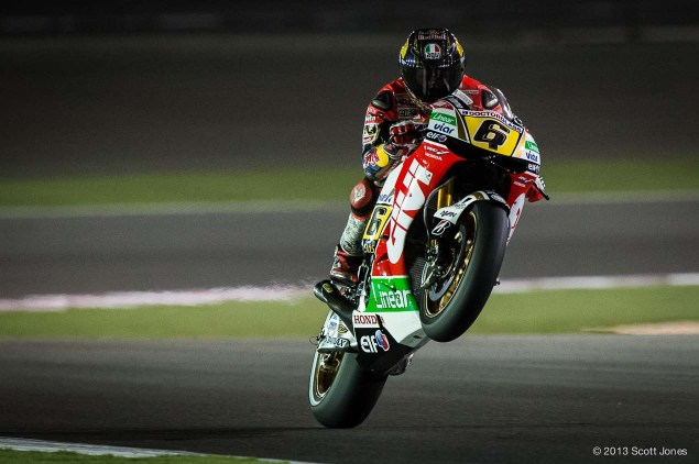 Rating the Riders of MotoGP: Stefan Bradl – 7/10 Stefan Bradl LCR Honda Qatar MotoGP Scott Jones 635x422