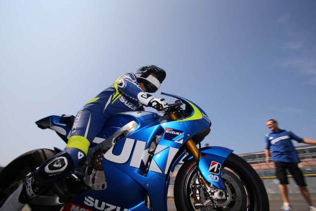 Photos: Suzuki MotoGP Team Testing at Motegi with RdP Suzuki Racing MotoGP Motegi test 31 635x423