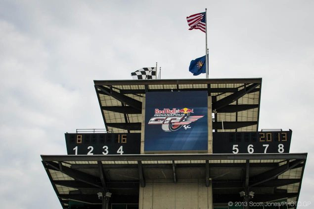 MotoGP Returns to Indianapolis for 2014 & Maybe More indianapolis motor speedway pagoda motogp scott jones 635x423