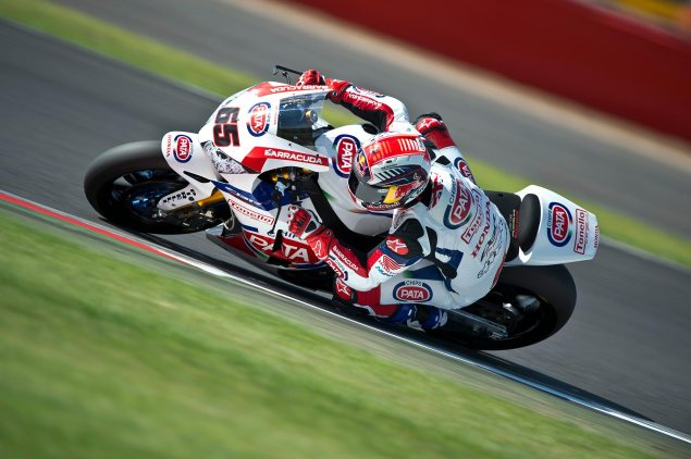 WSBK: Race Results for Race 1 at Silverstone jonathan rea wsbk silverstone pata honda 635x422