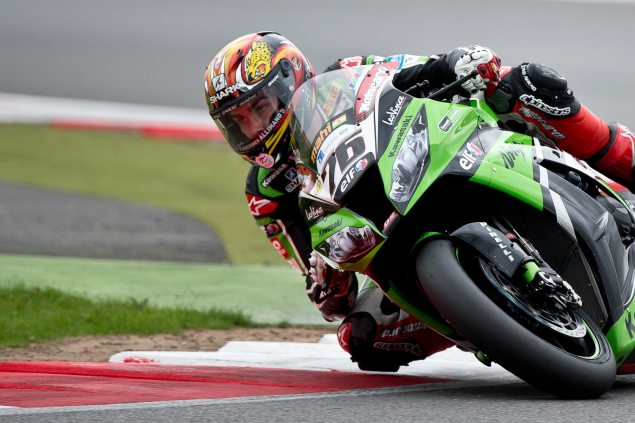 WSBK: Race Results for Race 2 at Silverstone loris baz wsbk silverstone kawasaki racing 635x423